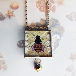 front Just Bee pendant