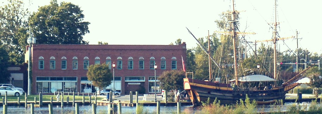 Chesapeake East on the river